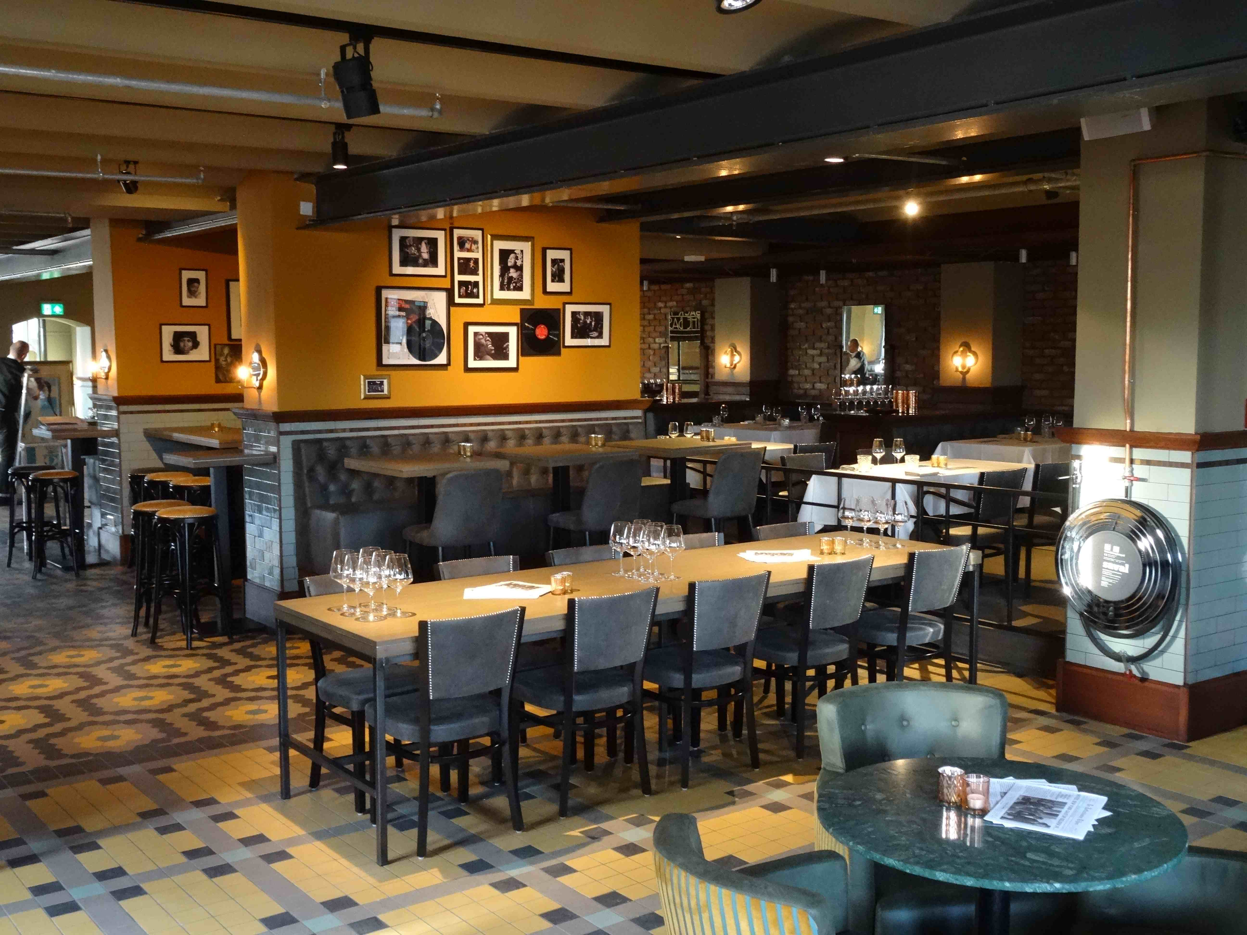 ny basement is nieuw restaurant in hotel new york in rotterdam chefs friends. Black Bedroom Furniture Sets. Home Design Ideas