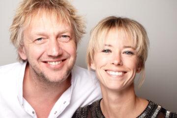 Jef Schuur en Nadine Mögling Bij Jef Texel