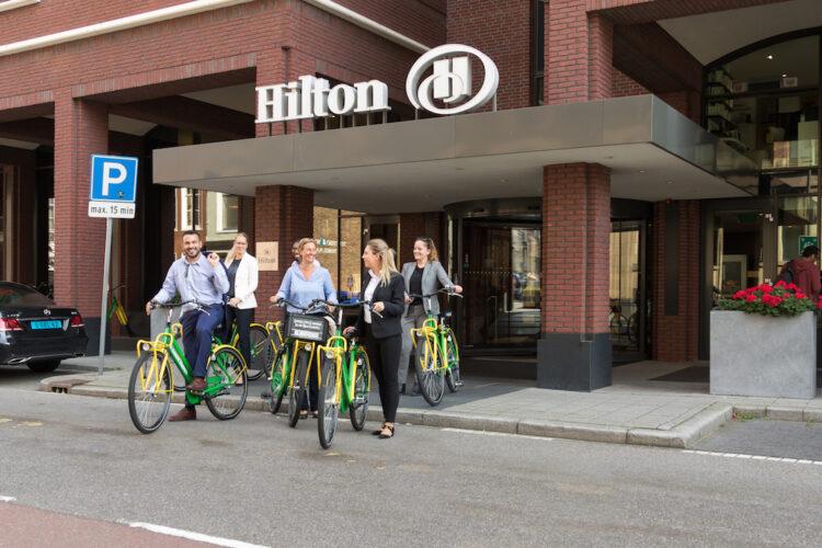 Bike Break hotel Hilton The Hague Den Haag