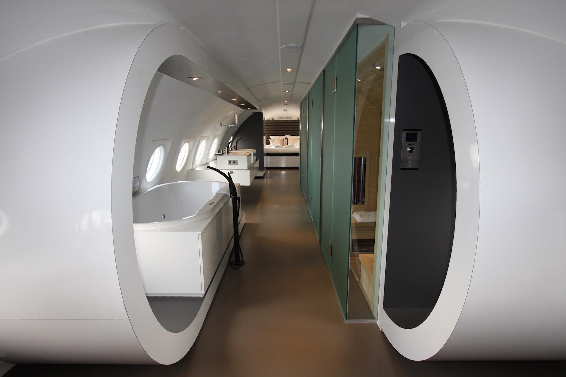 Vliegtuigsuite Vliegtuighotel Teuge