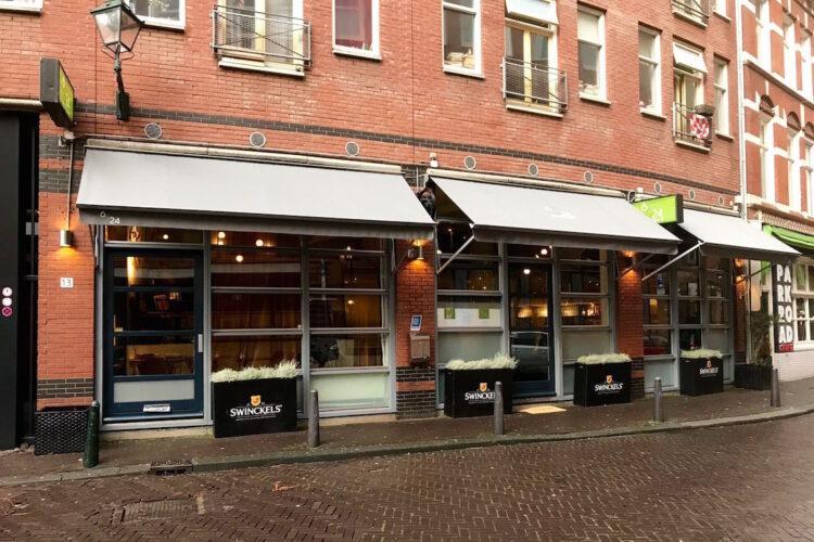 Restaurant 6&24 Den Haag exterieur