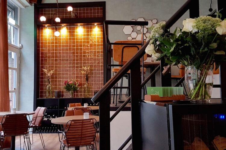 Restaurant 6&24 Den Haag interieur