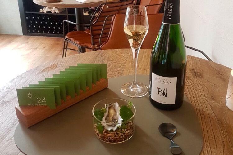 Restaurant 6&24 Den Haag wijn en oester