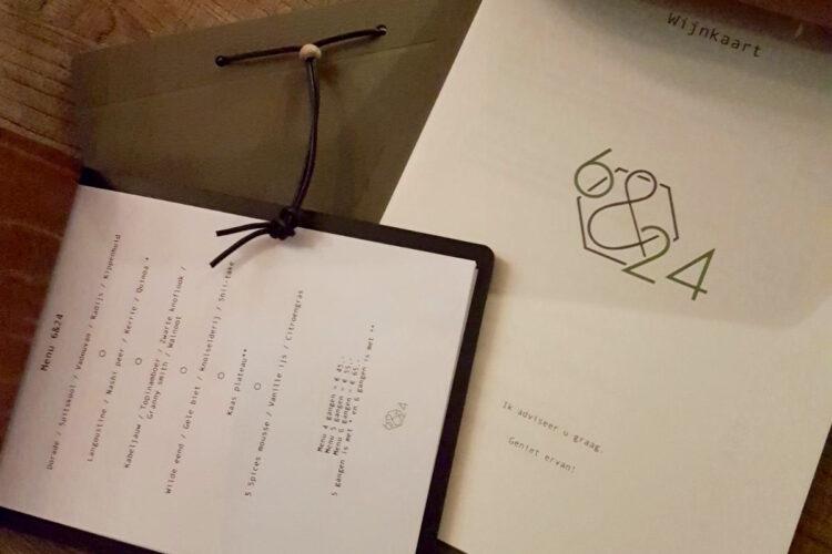 Restaurant 6&24 Den Haag wijnkaart