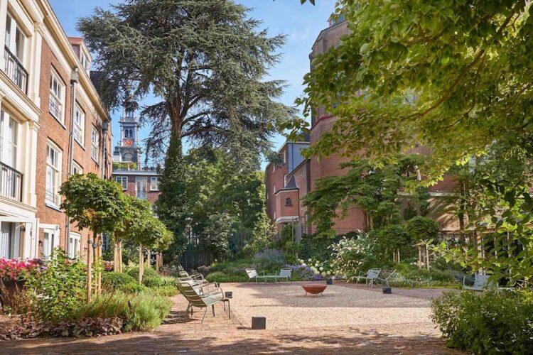 Garden Pause Pulitzer Amsterdam
