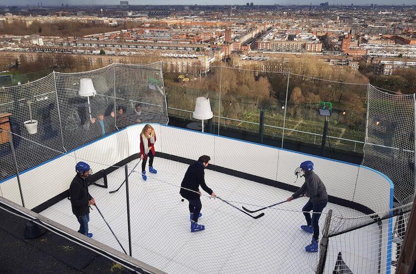 IJshockey Ramada Apollo Amsterdam Centre